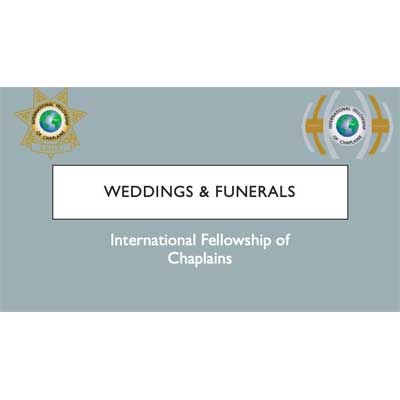Wedding and Funeral Training Video